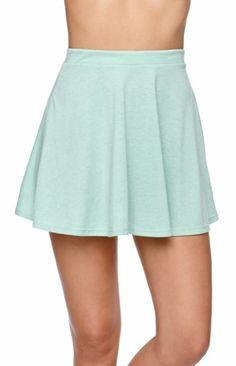 Jersey Knit Skater Skirt
