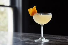 Calvados amplifies the fruity side of aged brandy in this twist on the classic Sidecar cocktail. Aquavit Cocktails, Brandy Cocktails, Classic Cocktails, Craft Cocktails, Sidecar Cocktail, Cocktail Photography, Perfect Glass, Vanilla Sugar, Fresh Lemon Juice