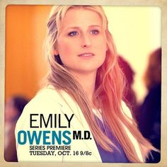 Emily Owens M.D. Meryl Streep Daughter, Mamie Gummer, Tv Doctors, Fall Tv, One Hit Wonder, Series Premiere, Great Tv Shows, The Cw, Beautiful Person