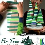 Fir+Tree+from+Colored+Paper+Strips