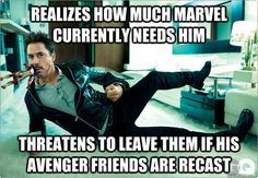 Robert Downey Jr. bless his soul