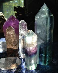For my mystical corner - crystal healing