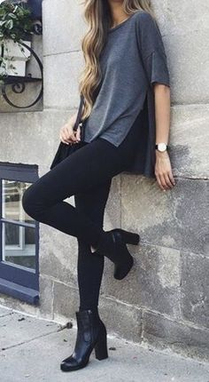 mode Allt om säsongens hetaste trender This date night outfit is one of the best cute outfits! Look Fashion, Daily Fashion, Street Fashion, Fashion Black, Fashion 101, Womens Fashion, Fashion Boots, Hipster Fashion, Women Fashion Casual