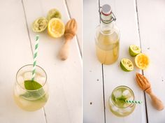 my photo journal: Homemade Ginger Ale two ways