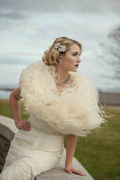 Vestido de Noiva ♡ Noiva Anos 20'