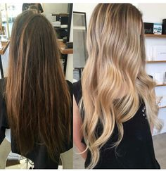 Hair Balayage Brunette Lighter Ombre 67 Ideas For 2019 Dying Hair Blonde, Going Blonde From Brunette, Brown Blonde Hair, Dyed Hair, Balayage Brunette, Brunette Hair, Balayage Hair, Ombre Hair, Haircolor