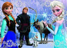 Puzzle Frozen. http://www.puzzles.pequescuela.com/puzzle-frozen1.html
