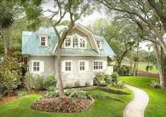 LOVE THE ROOF!! Cottage. South Carolina Coastal Cottage. Coastal Cottage.