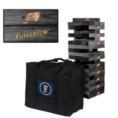 Giant Tumble Tower Game - Cal State Fullerton Titans