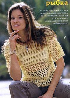 Janja croche: Blusas