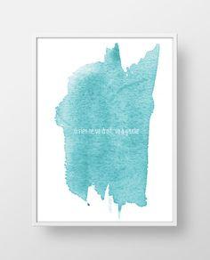 Affiche_interieur_aquarelle_bleu