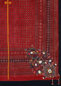 Textiles from the Indus Valley at The David Collection – HALI Indian Fabric, Indian Textiles, Textile Patterns, Textile Design, Textile Fiber Art, Fabric Rug, Fabric Manipulation, Hand Embroidery, Indian Embroidery