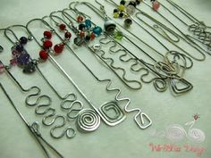 Wire bookmarks by WireBliss