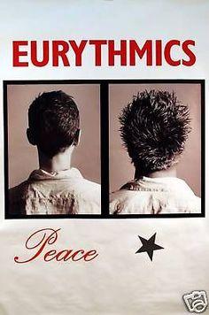 "Eurythmics. 1999. 40"" x 60""."
