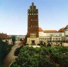 Joseph Maria Olbrich,1905-1908. Wedding Tower (Hochzeitsturm). Darmstadt