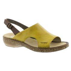 Women/'s Rieker Blue Combi Leather Cut Out Detailed Low Heel Shoe