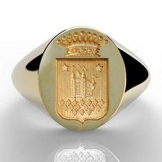 Ring Bear, Wax Seals, Gravure, Signet Ring, Class Ring, Rings For Men, Bangles, Monogram, Paris