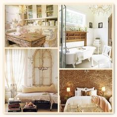 romantic vintage homes