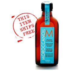 This Moroccan Oil is fantastic to tame my frizzies, smooth my hair and the scent it leaves is just a bonus.