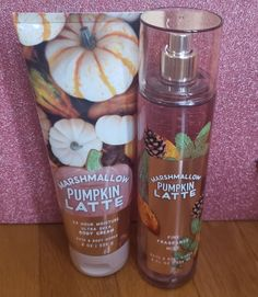 438b0cf58 bath and body works marshmallow pumpkin latte body cream and fine fragrance  mist  ebay