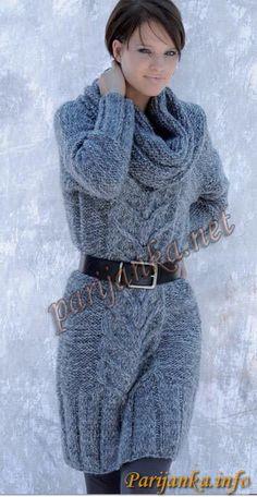 Платье-пуловер 12*45 (Фильдар). Обсуждение на LiveInternet - Российский Сервис Онлайн-Дневников