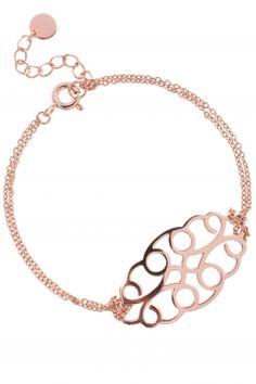 rose gold plated #bracelet I designed for NEW ONE I NEWONE-SHOP.COM