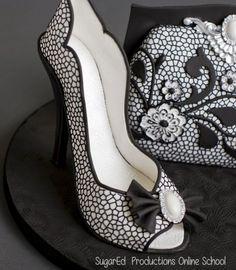 Cake Lace High Heel