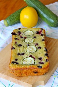 Lemon Blueberry Zucchini Bread