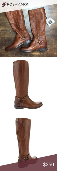 Frye Boots. Phillip harness tall in wiskey. Brand new Frye boots. Whiskey brown color. Phillip harness tall. Frye Shoes