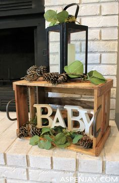 Woodland Baby Shower Ideas you will love! - Aspen Jay - Woodland Baby Shower Ideas you will … - Idee Baby Shower, Mesas Para Baby Shower, Shower Bebe, Baby Shower Backdrop, Boy Baby Shower Themes, Baby Shower For Boys, Baby Shower Favours, Baby Shower Bunting, Baby Favors