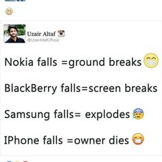 thats why i hate iphones