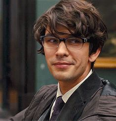 Ben Whishaw plays Q in the new James Bond movie: Skyfall