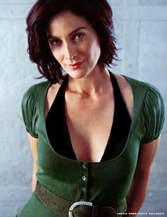 Carrie-Anne Moss (born August 21, 1967) is a Canadian actress, best known for her role of Trinity in The Matrix trilogy of films beginning with The Matrix (1999), her breakthrough film. Description from imgarcade.com. I searched for this on bing.com/images
