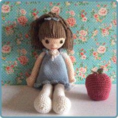 Amigurumi Little doll Made by Kriziwizi@hotmail.com Http://Kriziwizi-com.webs.com