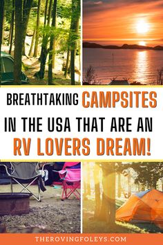 Want to know the top ranked campgrounds in America? We have compild a list of the best campsites to help your plan your RV travel destinations. We include Texas rv parks, rv campgrounds in Michigan, Utah, California, Florida and many more. Finding campgrounds to stay at can be the hardest part of RV travel, but this list will help you to easily plan your next camping vacation. #rvtraveldestinations #rvcampgrounds #usa Rv Travel, Travel Trailers, Travel Destinations, Texas Rv Parks, Best Places To Camp, Rv Campgrounds, Rv Life, Campsite, Utah