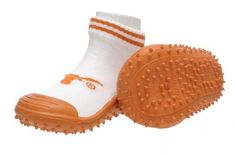 Skidders University of Texas Longhorns Kids Slip-Resistant Indoor/Outdoor Slip-On Hybrid Shoes with Socks, Size 12/4Y Toddlers SkidDERS. $19.99. Save 33%!