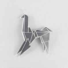 Lasercut Acrylic Blade Runner Unicorn by folditcreations on Etsy