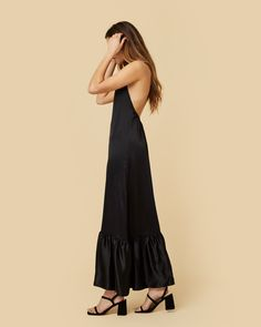 The Ellie Dress Washed Silk