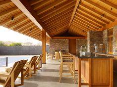 Tennis Pavilion - tropical - patio - san francisco - ZAK Architecture