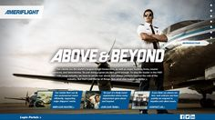 Schifino Lee worked with cargo airline Ameriflight to develop fresh #branding, #photography, and a new #website featuring a #parallax design. Check out the new site at www.ameriflight.com #advertising #design