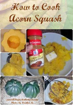 How to Cook Acorn Sq