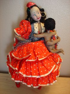 Roldan or Klumpe Mother and her Movable Baby
