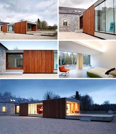 Refurbishment and extension to a farmhouse and stable complex in Longford, Ireland by ODOS Architects