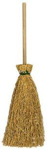 "5"" Natural Straw Craft Brooms - Wedding Favors - Package of 24 by Unknown. $11.99. Natural craft broom has a twig handle and dried straw for the bristles. Size: 5"" diameter. Package of 24 natural straw brooms. Package of 24 individual 5"" tall Natural Straw Craft Brooms. Work well for wedding favors, party decorations, craft projects and more"