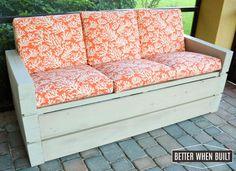 DIY+Outdoor+Sofa