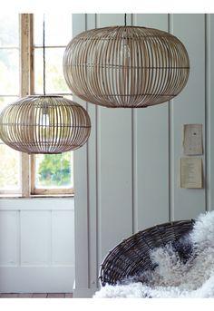 Bamboo Pendant Lightshades