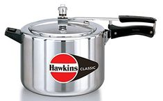 ORIGINAL HAWKINS CLASSIC 6.5 LITRE ALUMINIUM PRESSURE COOKER WITH DHL SHIPPING 4-5 DAYS DELIVERY -- Remarkable product available now. : Pressure Cookers