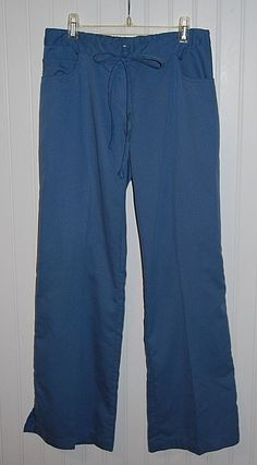 Greys Anatomy Petite Women's XS Scrub Pants Blue Style 4232P #GreysAnatomy