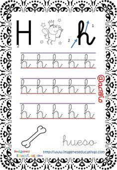 Cuaderno de trazos Imágenes Educativas Letras Escolar – Imagenes Educativas Free Kindergarten Worksheets, Math Equations, School, Jackson, French, Reading, Alphabet, Letter M Activities, Index Cards
