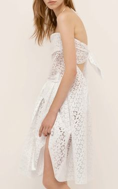 Broderie Anglaise Dress by Nina Ricci for Preorder on Moda Operandi